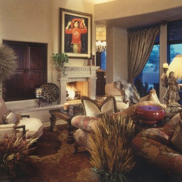 North Scottsdale Traditional - Living Room